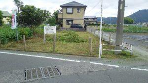 一般競争入札による県有地売却物件(静岡市葵区遠藤新田)